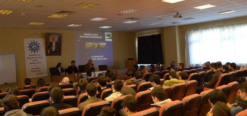 Liman Çalışanlarının Belgelendirilmesi semineri (Asım Kocabıyık MYO)