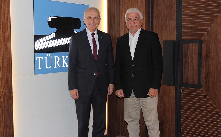 Demiryolu Taşımacılığı Derneği Yönetimi'nden TÜRKLİM Ziyareti